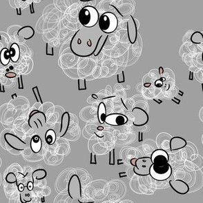 Ditsy Sheep