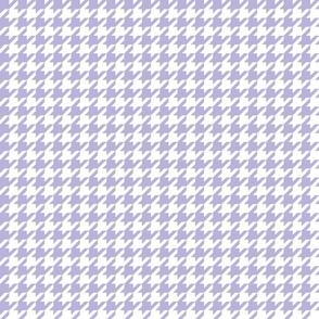 houndstooth light purple
