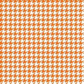 houndstooth orange