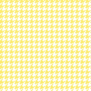 houndstooth yellow