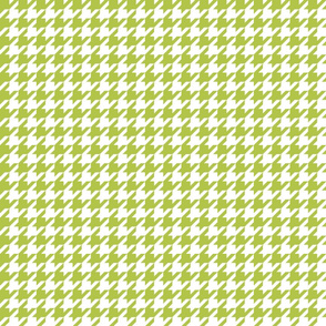 houndstooth lime green
