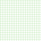 Houndstooth Ice Mint Green