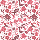 Woodland Birds Pattern