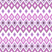Pink and Purple Seamless Diamond Pattern