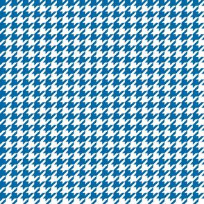 houndstooth royal blue