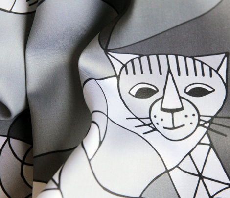 Cubist cats (large)