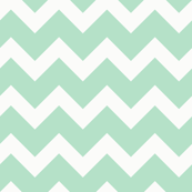 chevron_in_white_and_mint