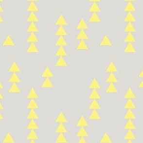 Stacked Triangles Yellow