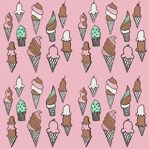 Pink Cones