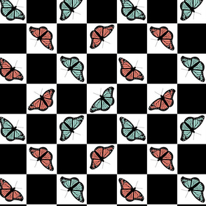 Checkerboard Butterflies