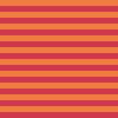 Orange & red stripes
