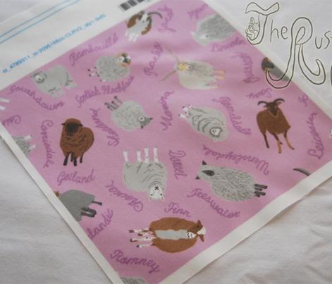 Ewe-nique Wool Sheep - pink