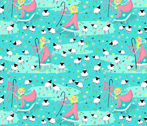 Bo Peep and Sheeps