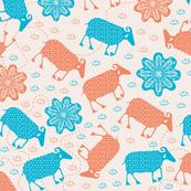 Ditsy sheeps