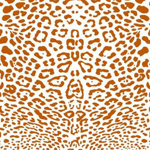 Spiced Pumpkin and White ~ Ooh la la Leopard!