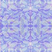 Purple_pink_ mint_ paisley feathers