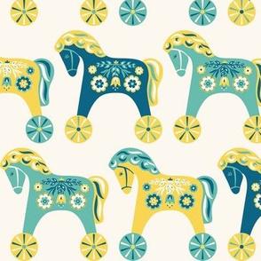 Scandinavian Toy Horses