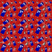 Police Box Attack_Red Snowflake xlg