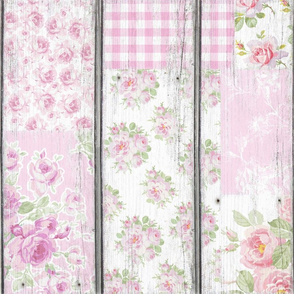 Mamie in sorbet pink wallpaper