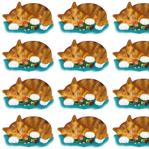 Nap_Time_for_Leprechaun_and_Orange_Tiger_Kitten_-_Spoonflower