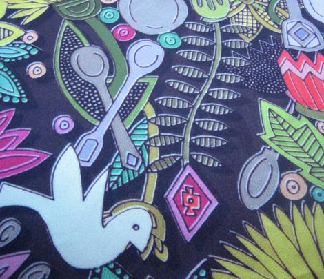 dove spoon garden