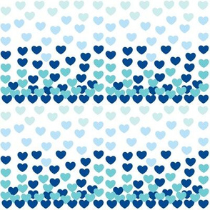 Heart Drops-blue-MEdium