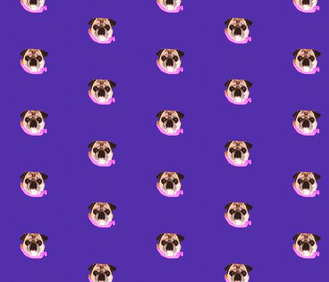 Pug Polka Dots