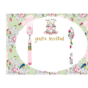 You're Invited placemats