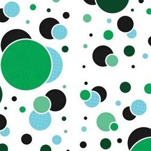 Fizzy Lifting Dots Emerald