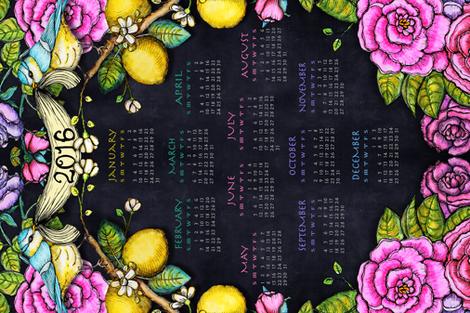 Florentine Garden 2016 Calendar