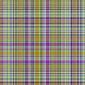 Spoons and Dots Plaid