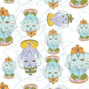 Ganesha Pattern Nursery