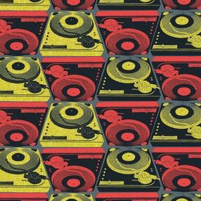 Turntables African Glam