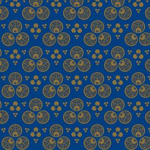 16th century Cintamani-blue