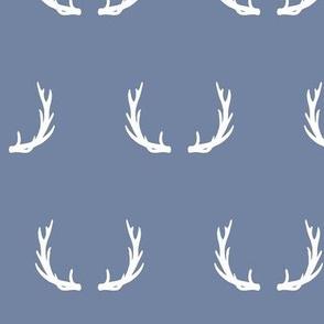 antlers // blue
