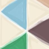 Portland triangles railroaded 90°