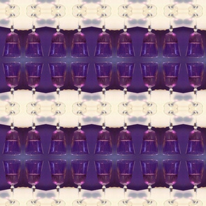 Purple wine mirror