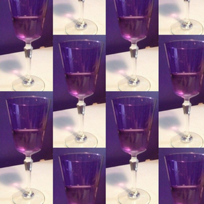Purple wine - large