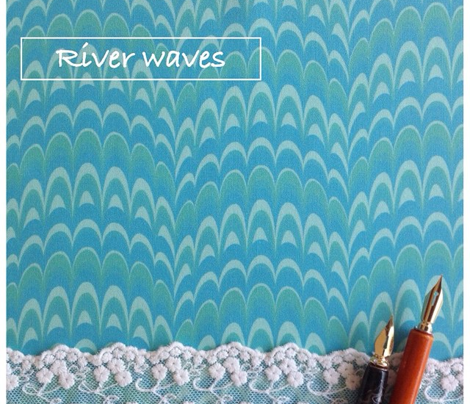 Marbling Comb - River Waves