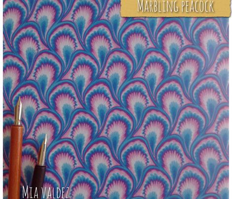 Marbling Peacock