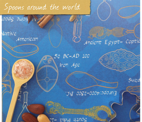 Spoons around the world