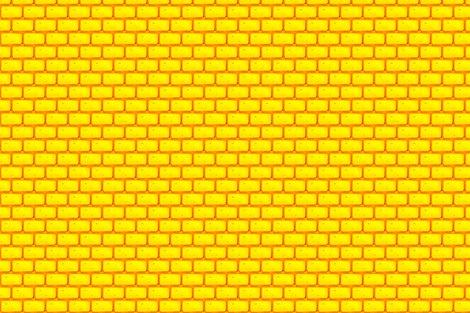 FOLLOW THE YELLOW BRICK ROAD Fabric