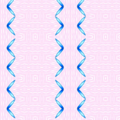 Zig zag ribbon blue on pink   larger_