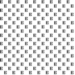 Alto Clef Black On White