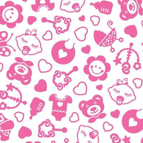 Baby Girls - pink