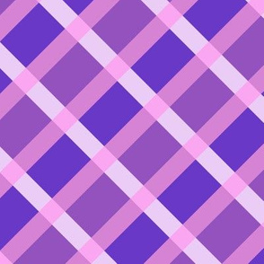 Spicy Purple Gingham