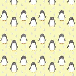 Ice Cold Penguins - Yellow - Small Scale
