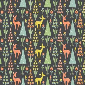 Deer Trees: Gray