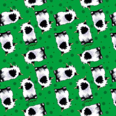 Valais Blacknose Sheep Ditsy