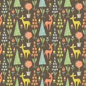 Deer Topiaries: Dark